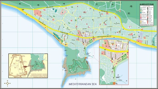 Turkey maps mappery – Tourist Attractions Map In Turkey
