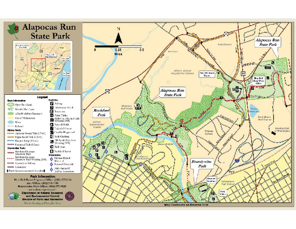 Alapocas Run State Park Map Rockford State Park Delaware US mappery
