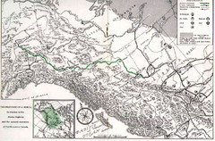 Alaska Highway Map