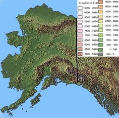 Alaska Topographic Map