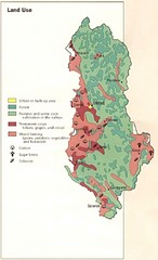 Albania Land Use Map