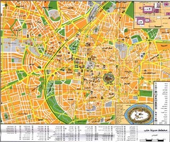 Aleppo City Map