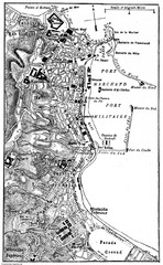 Algiers 1906 Map