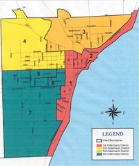 Algoma City Map