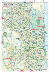Alicante Tourist Map