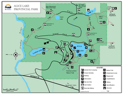 Alice Lake Provincal Park Map