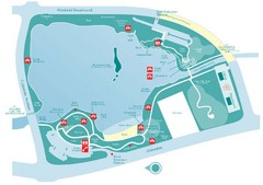 Almaden Lake Park Map