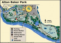 Alton Baker Park Map