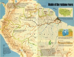 Amazon River Basin Map