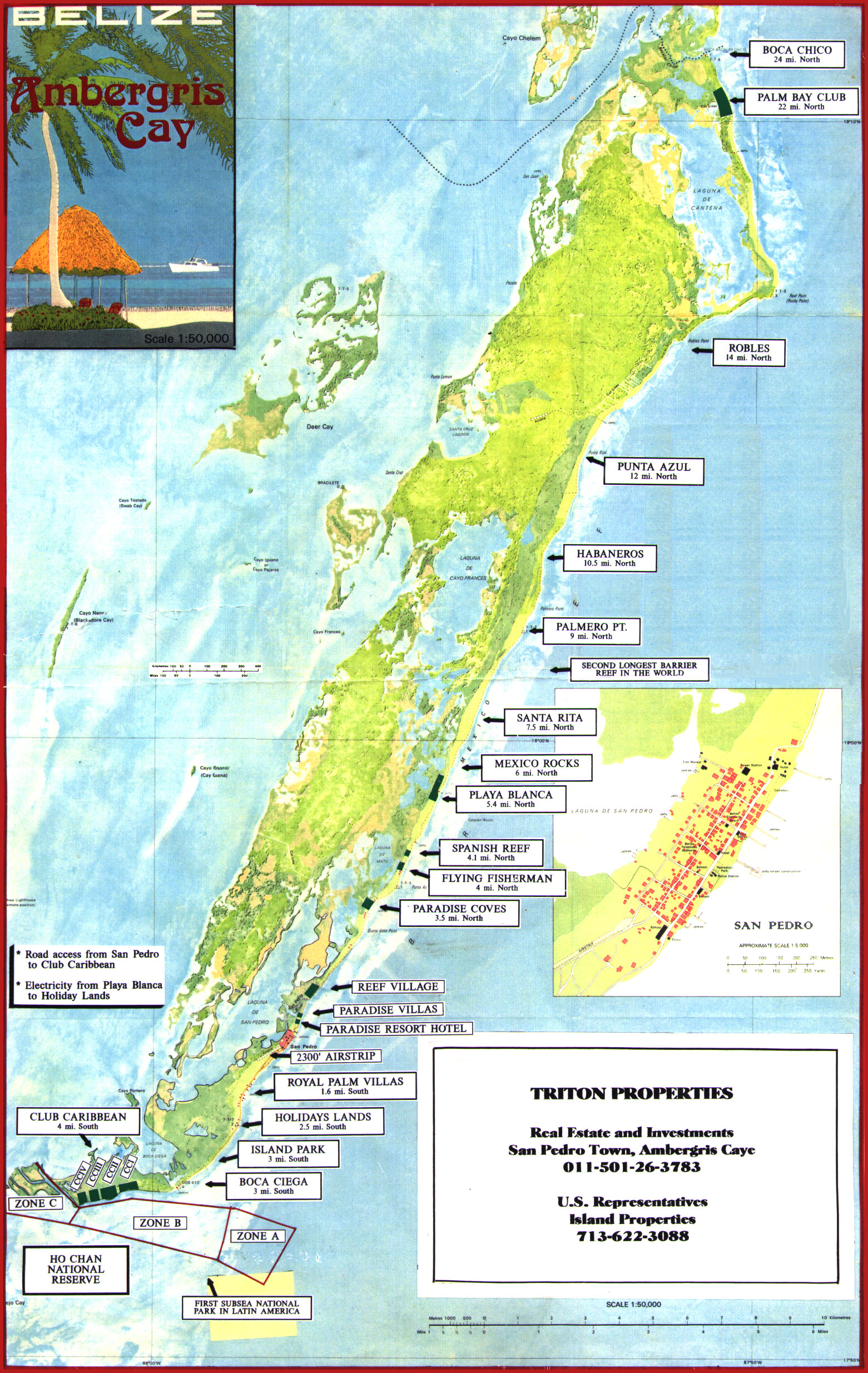 Ambergris Caye Tourist Map Ambergris Caye Belize mappery – Belize Tourist Map