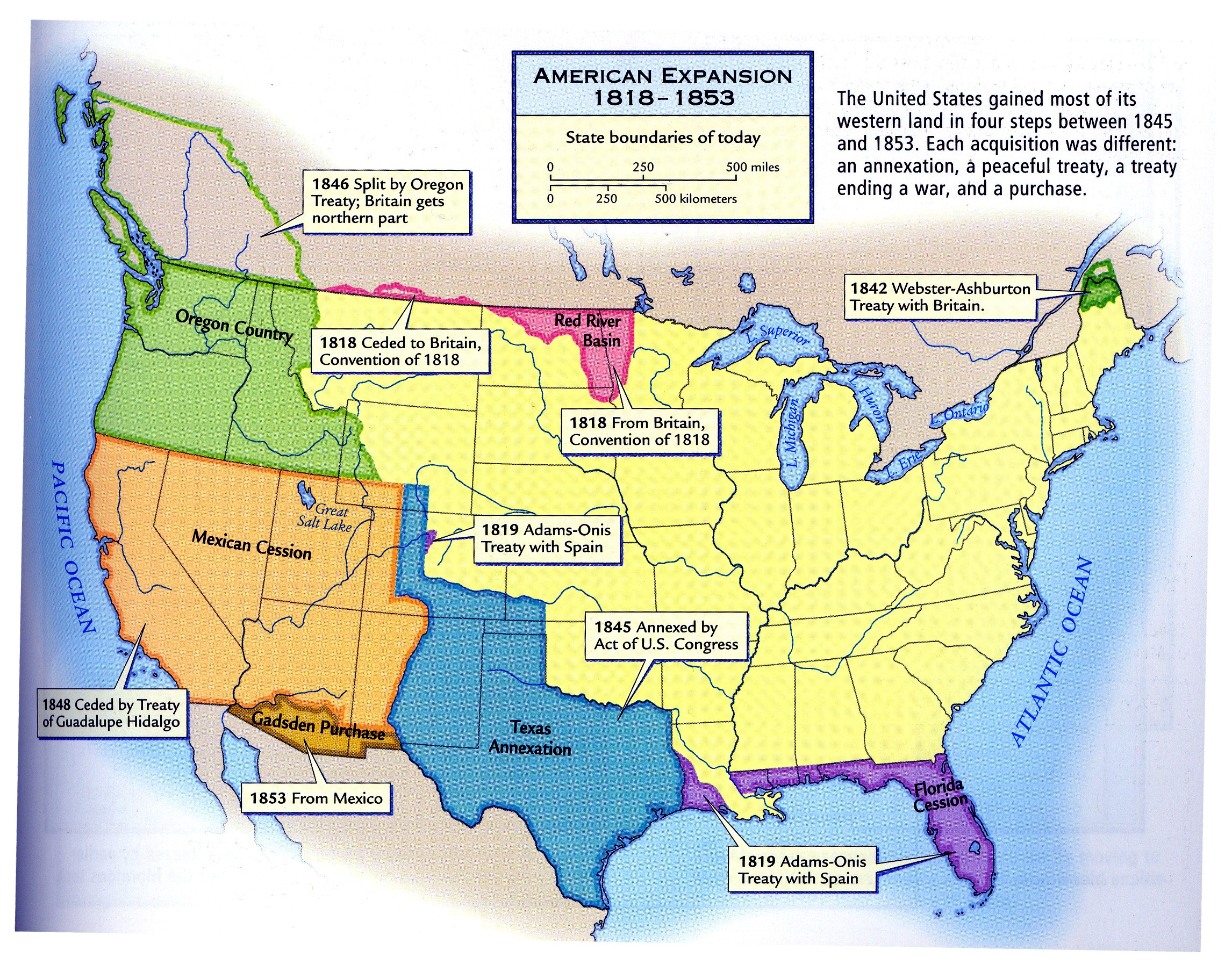 Westward Expansion and Indian Removal from W3 by trivto on ...