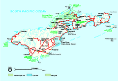 american samoa national park official park map