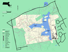 Ames Nowell State Park Map