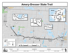 Ammery Dresser Trail Map