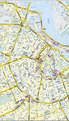 Amsterdam Central City Map