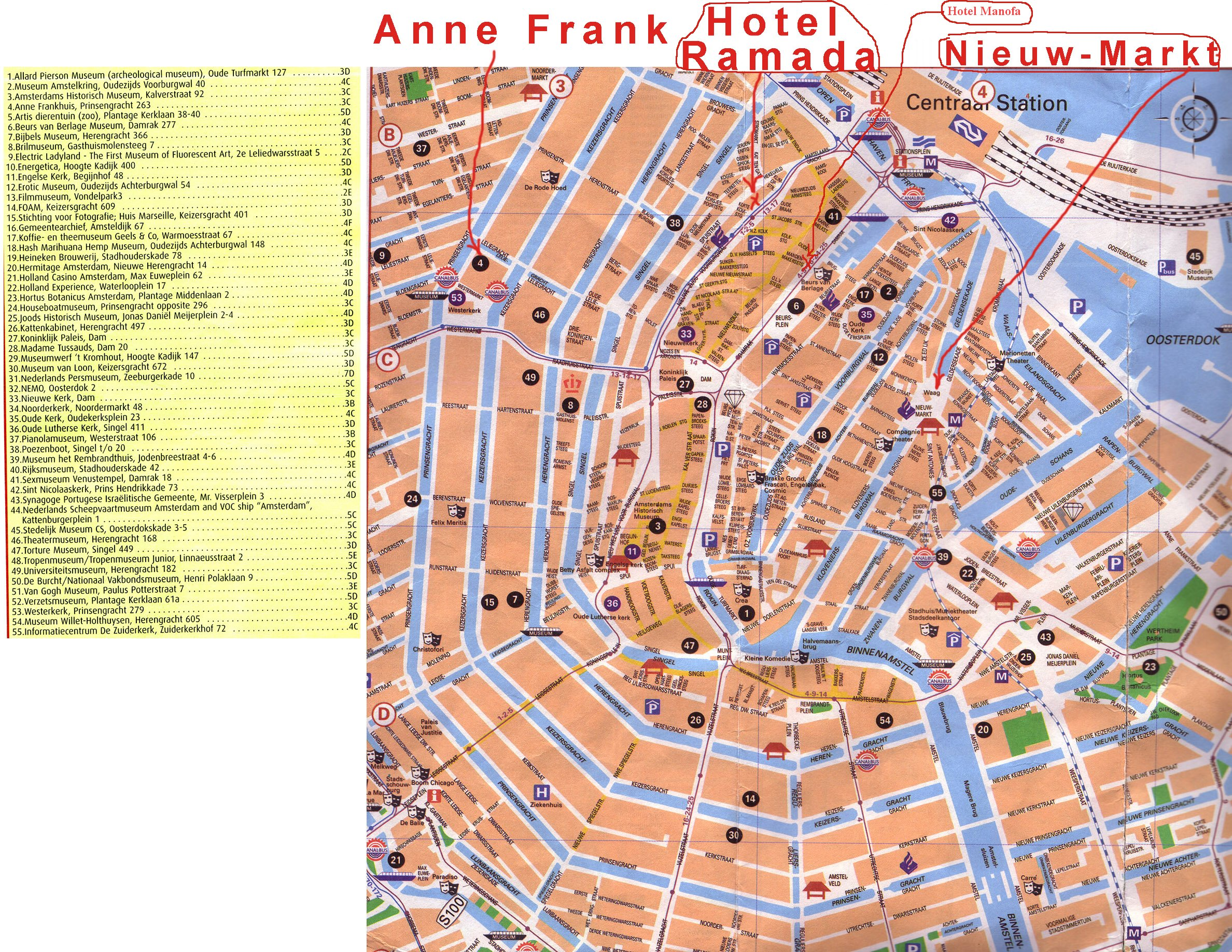 Amsterdam Tourist Map Amsterdam mappery – Amsterdam Tourist Map