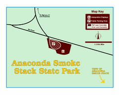 Anaconda Smoke Stack State Park Map