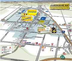 Anaheim Resort Map