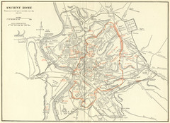 Rome maps • mappery Detailed Map Of Rome on