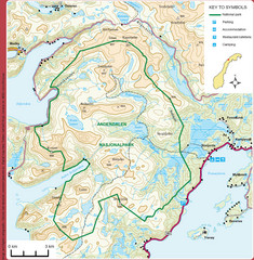 Anderdalen National Park Map