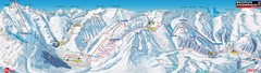 Andermatt (Hospental) Ski Trail Map
