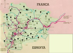 Andorra Tourist Map