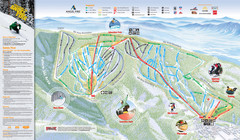 Angel Fire Resort Ski Trail Map