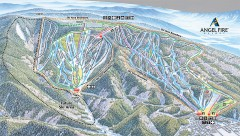 Angel Fire Ski Trail Map