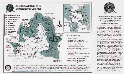 Angel Island State Park Map