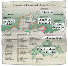Angra dos Reis Tourist Map