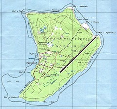 Anguar island Map