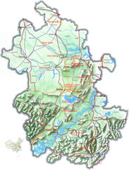 Anhui Guide Map