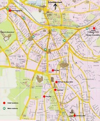 Ankara City Map