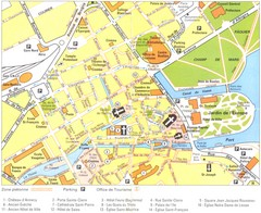 Annecy centre Map