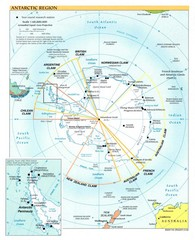 Antarctic Region Map