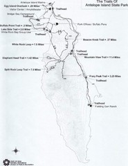 Antelope Island State Park Map