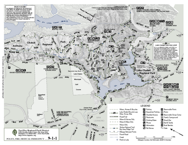Anthony Chabot Regional Park Map - South - Anthony Chabot ... on contra loma map, caldwell map, las trampas map, diablo valley map, hartnell map, cull canyon map, santiago canyon map, quarry lakes map, allan hancock map, carroll map, frank's map, cal university map, los medanos map, berkeley city map, cosumnes river map,