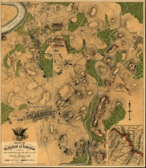 Antietam Battlefield Map