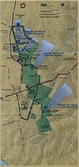 Antietam National Battelfield Map