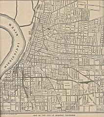 United States Map Memphis