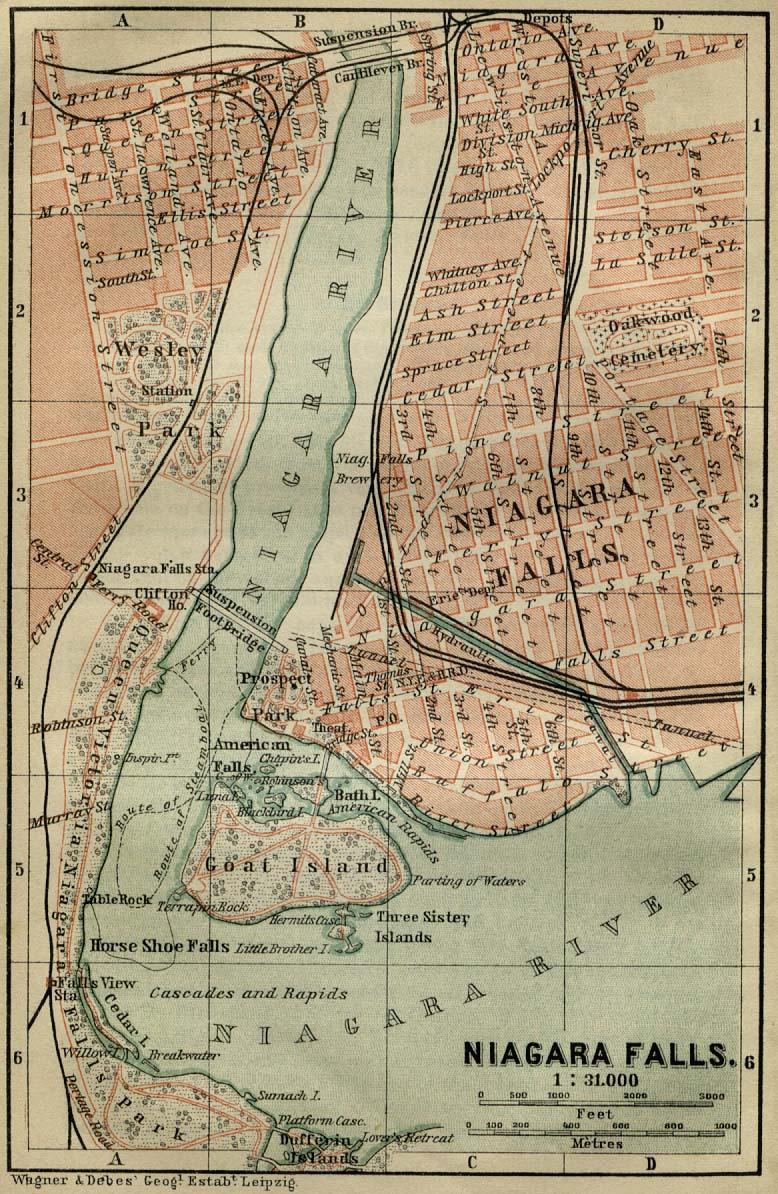 Antique map of niagara falls from 1894 niagara falls new york antique map of niagara falls from 1894 niagara falls new york mappery publicscrutiny Choice Image