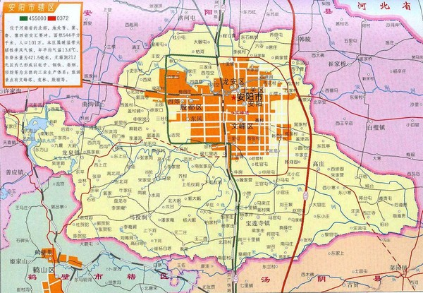 Anyang Guide Map