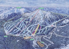 Apex Mountain Ski Resort Map