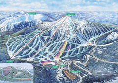 Apex Mountain Ski Trail Map