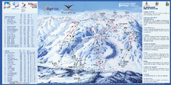 Aprica Ski Trail Map