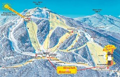 Arber Ski Trail Map