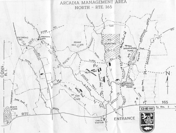 Arcadia Management Area State Map