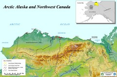 Arctic Alaska and Northwest Canada Map