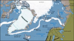 Arctic Ocean Map