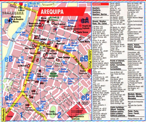 Peru maps mappery – Tourist Map Of Peru